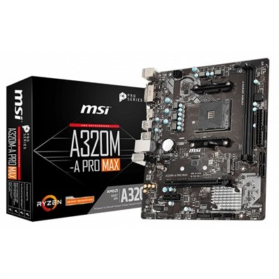 MSI Placa Base A320M-A PRO MAX mATX AM4