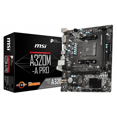 MSI Placa Base A320M-A PRO mATX AM4