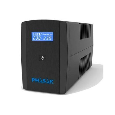 SAI/UPS 1260VA PHASAK SIRIUS PH 7312 SURGE PROTECTION