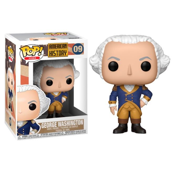 Funko pop personaje historico george washington