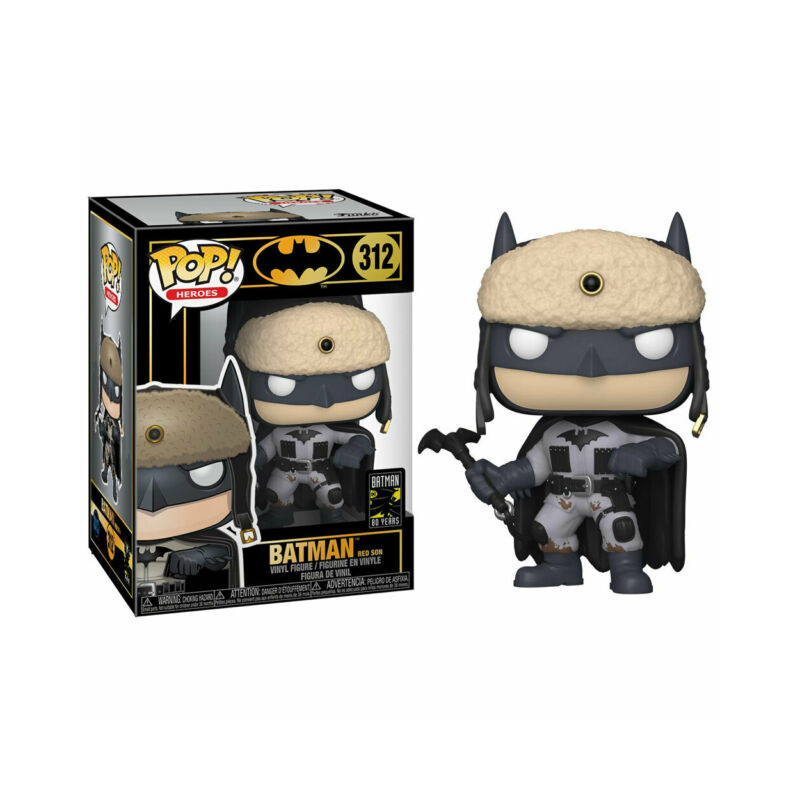 Funko pop dc 80th aniversario batman red son 2003