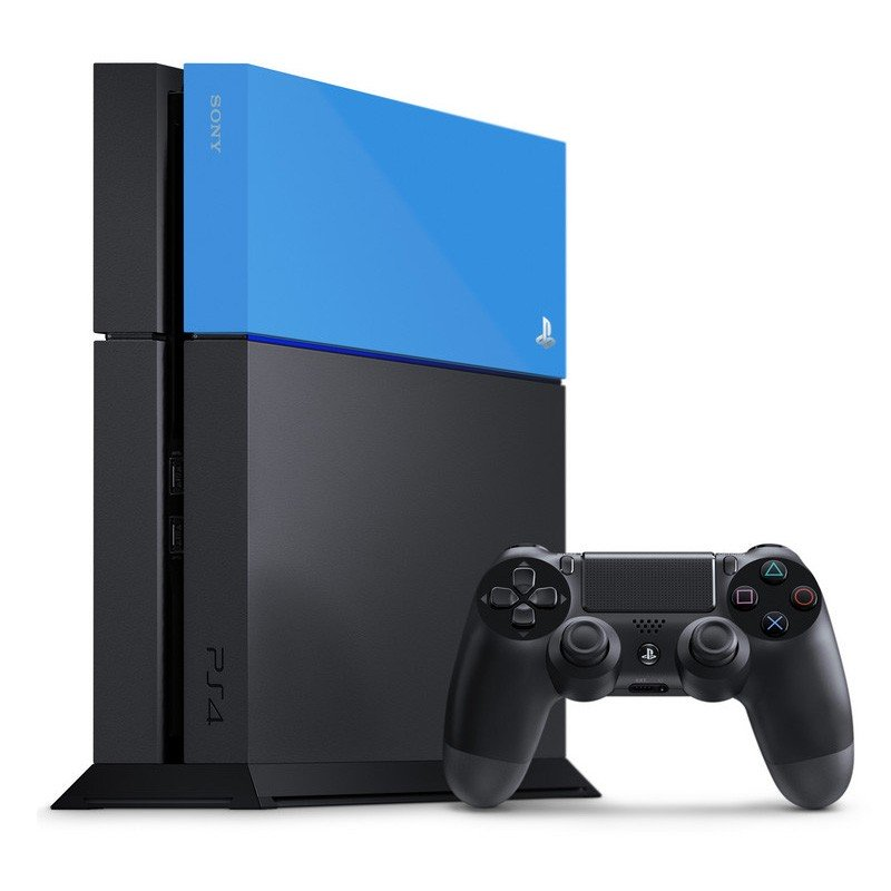 PS4 Sony Carcasa HDD Azul