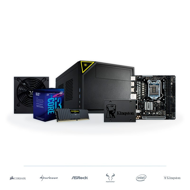 PC SMART WiFi-ITX i3-8300 8GB DDR4 240GB SSD v1.1