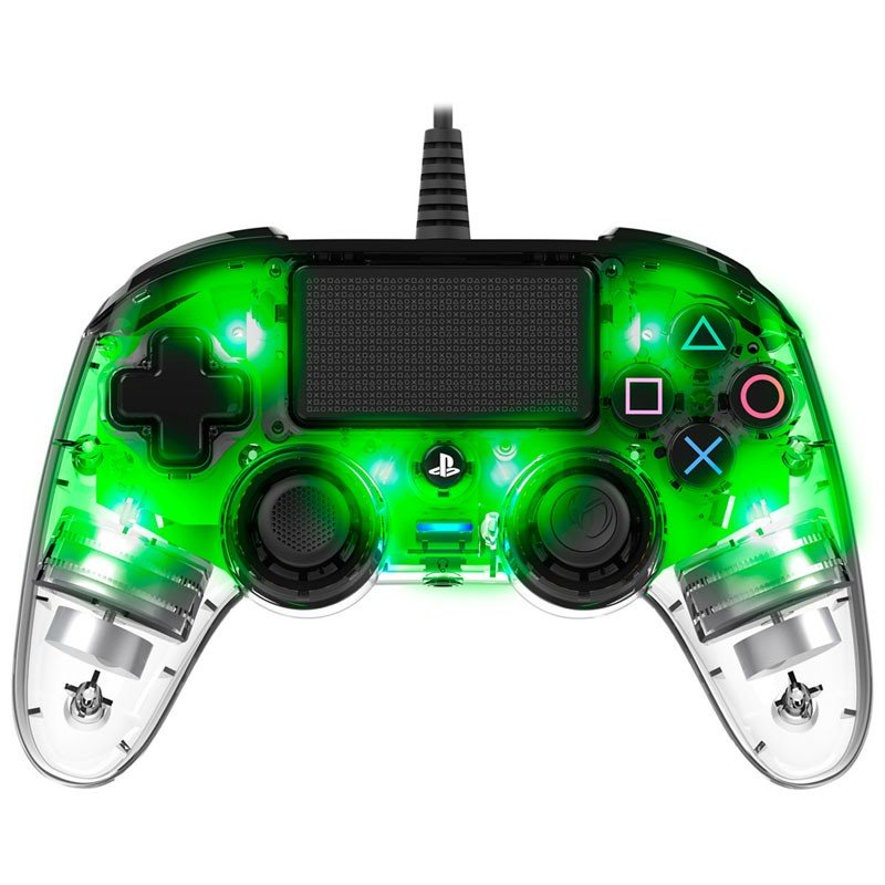 PS4 Gamepad Nacon Wired Verde Transparente
