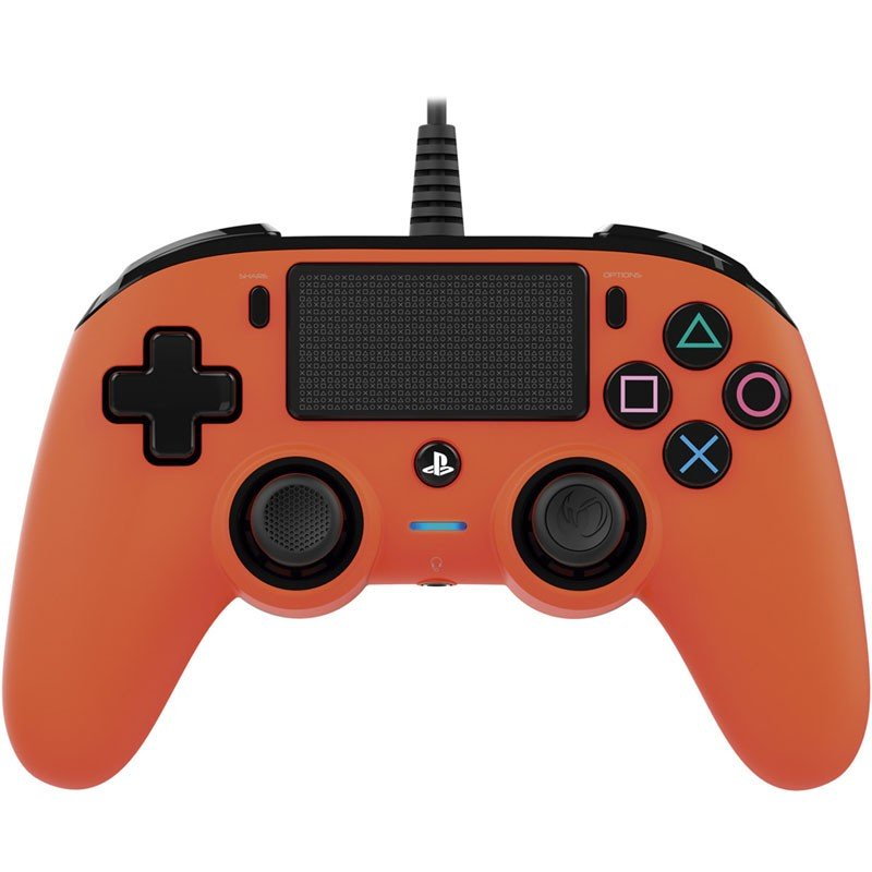 PS4 Gamepad Nacon Wired Naranja