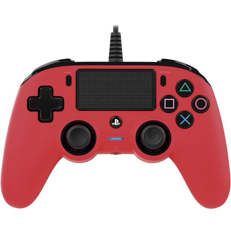 PS4 Gamepad Nacon Wired Rojo