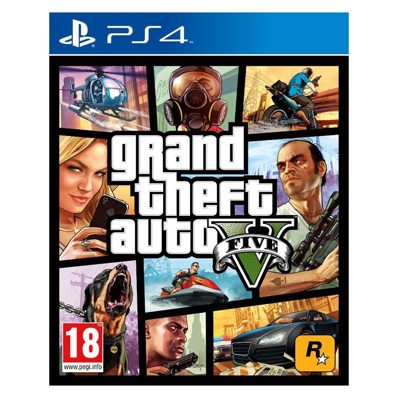 PS4 Juego Grand Theft Auto V (GTA V)
