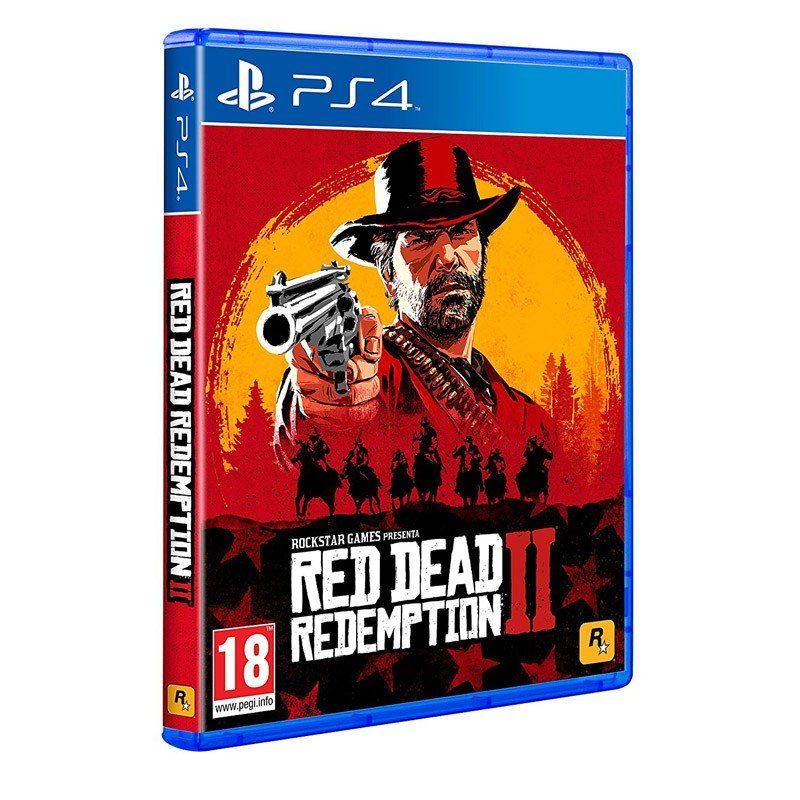 PS4 Juego Red Dead Redemption 2