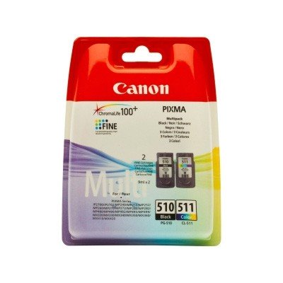 Pack Canon tinta original PG-510 / CL-511