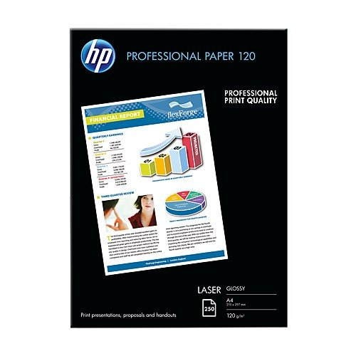 Papel Laser Brillante HP CG964A DIN-A4 120g pack 250 pcs