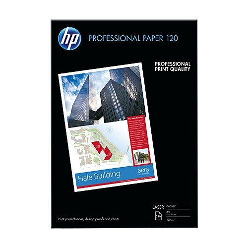 Papel Laser Brillante HP CG969A DIN-A3 120g pack 250 pcs