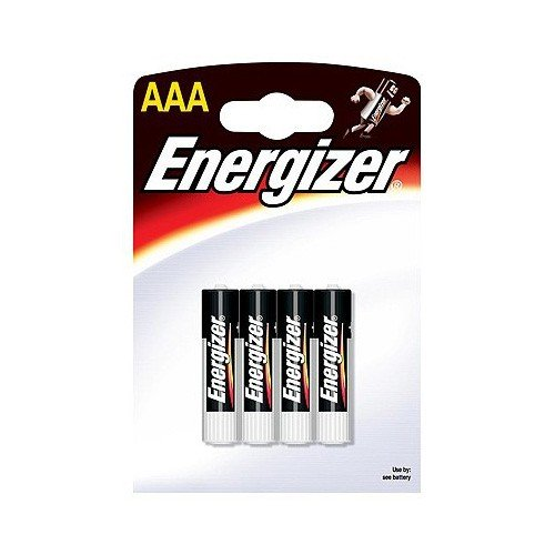 Pila Alcalina AAA Energizer Pack 4 uds (LR03)