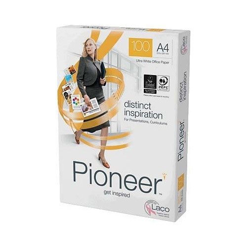 Papel Multifuncion Pioneer PIO1000119 DIN-A4 100g pack 250 pcs