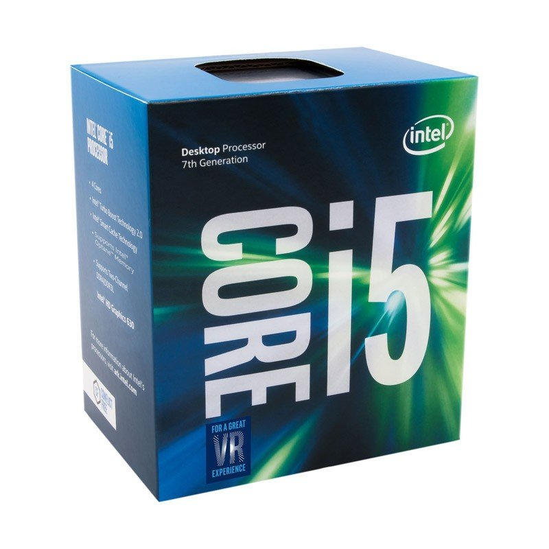 Procesador Intel Core i5-7400 3GHz 6MB Box
