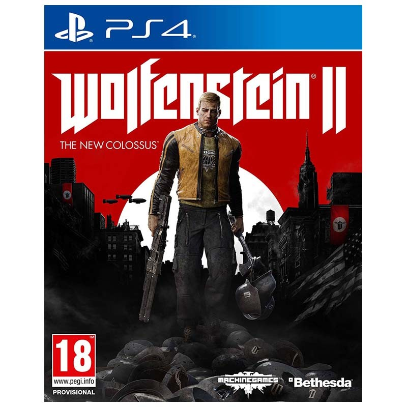PS4 Juego Wolfenstein 2 The New Colossus