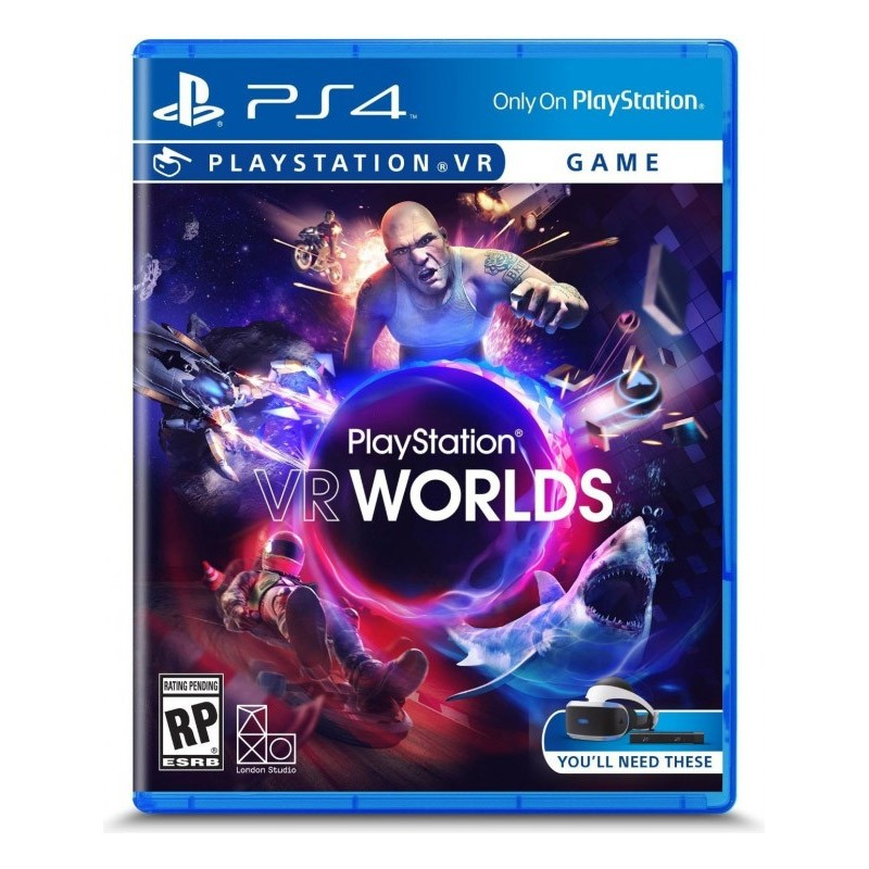 PS4 Juego PlayStation VR Worlds