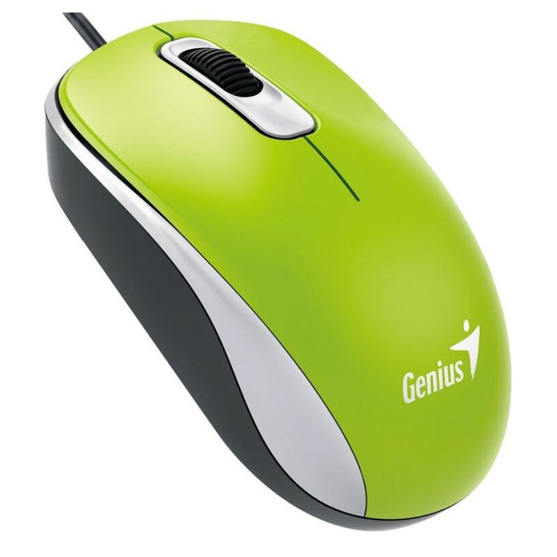 Ratón Optico USB Genius DX-110 Verde