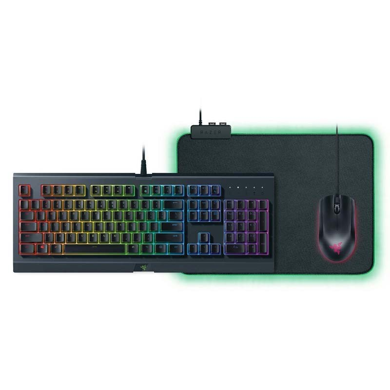 Teclado + Ratón + Alfombrilla Razer Holiday Bundle