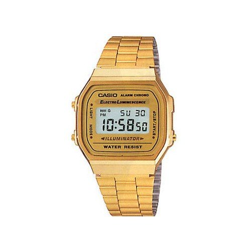 Casio Reloj Digital Dorado A168wg Collection 9wdf SUzVMp