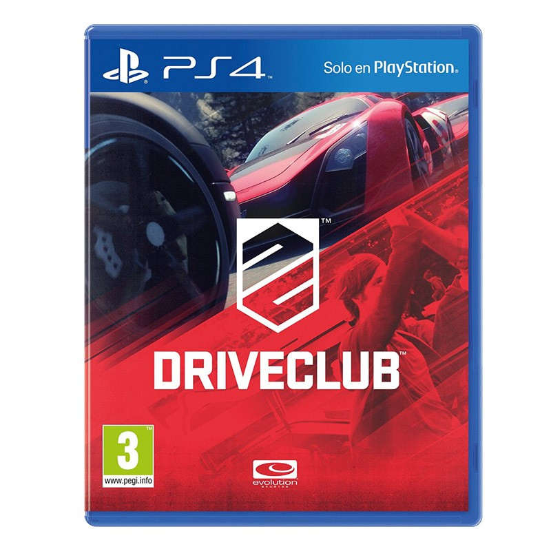 PS4 Juego Driveclub