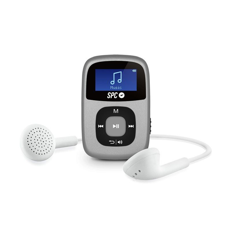Reproductor MP3 SPC Sparrow 4GB Silver