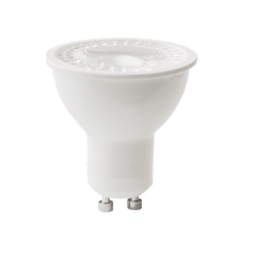 Foco LED Regulable 7W 6000k GU10 COB (556lum) Serie A6 - GU10 Triac Dimmer