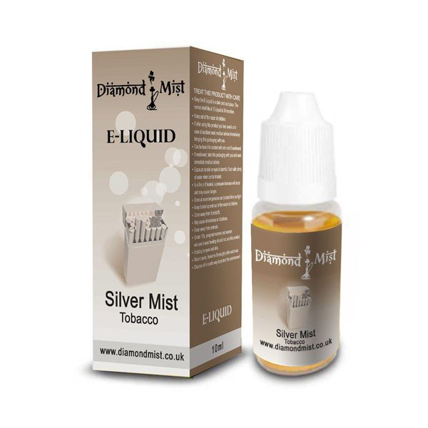 E-Liquid Diamond Mist Silver Mist 6mg Nicotina (10ml)