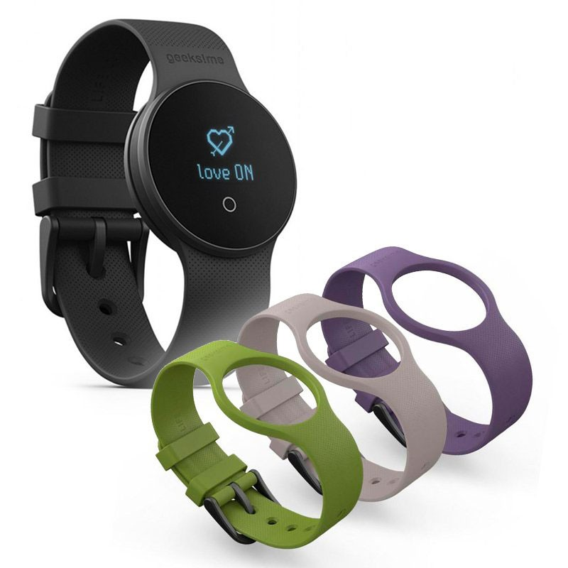 Smartwatch LifeLovers Geeksme GME1 + Pack 3 Correas