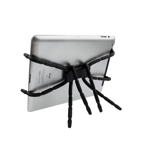 Soporte Universal Flexible para Tablets Spider - Negro