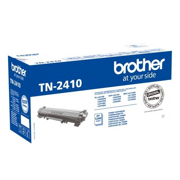 Brother TN-2410 Tóner Original Negro