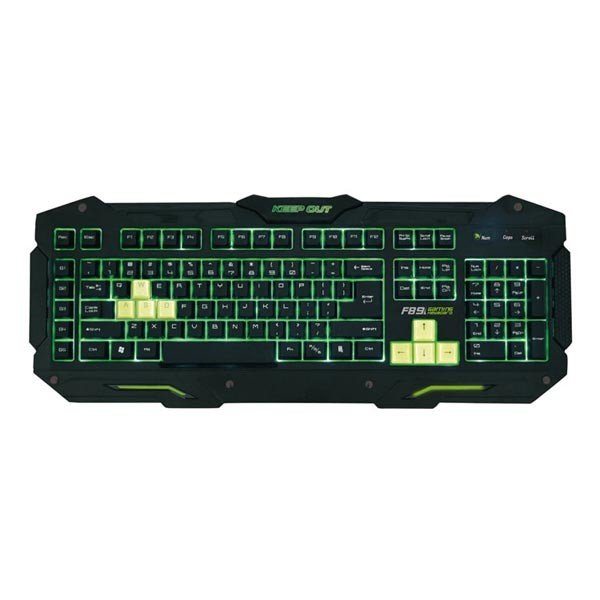 Teclado Gaming KeepOut F89S