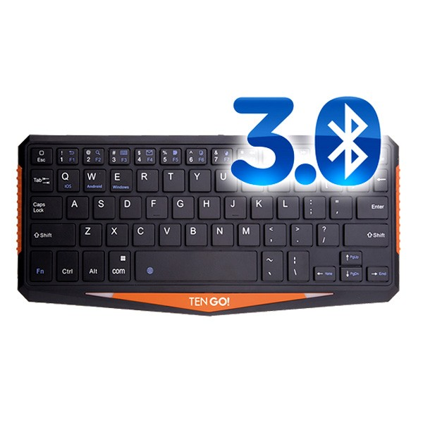 Mini Teclado Bluetooth Ten-Go! Compact