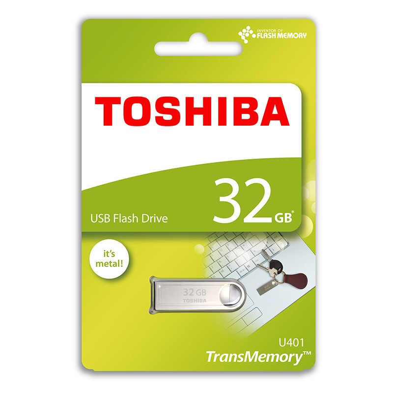 Pendrive 32GB Toshiba TransMemory Mini-Metal