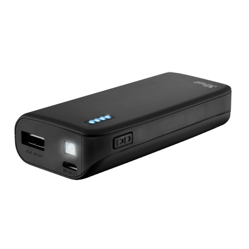 Power Bank Trust Primo 4400MAH Neon Black