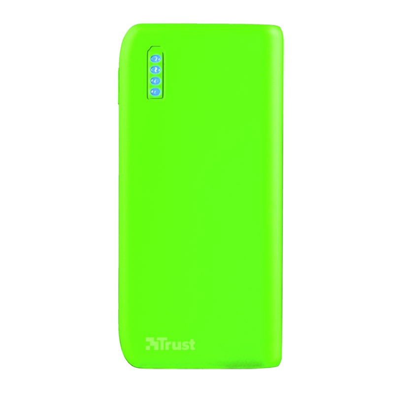 Power Bank Trust Primo 4400MAH Neon Green