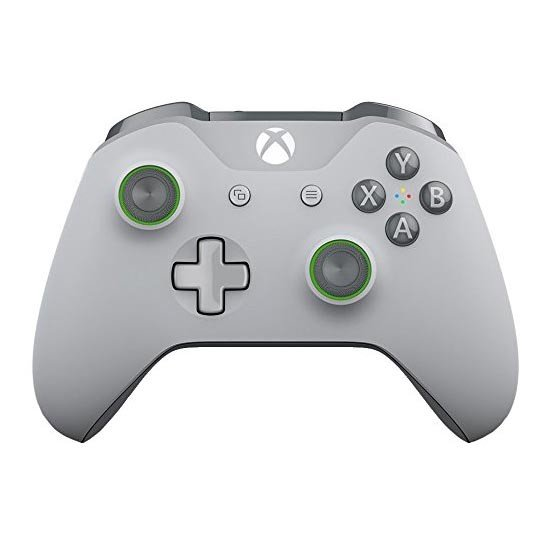 Xbox One Wireless Controller Gris Claro / Verde
