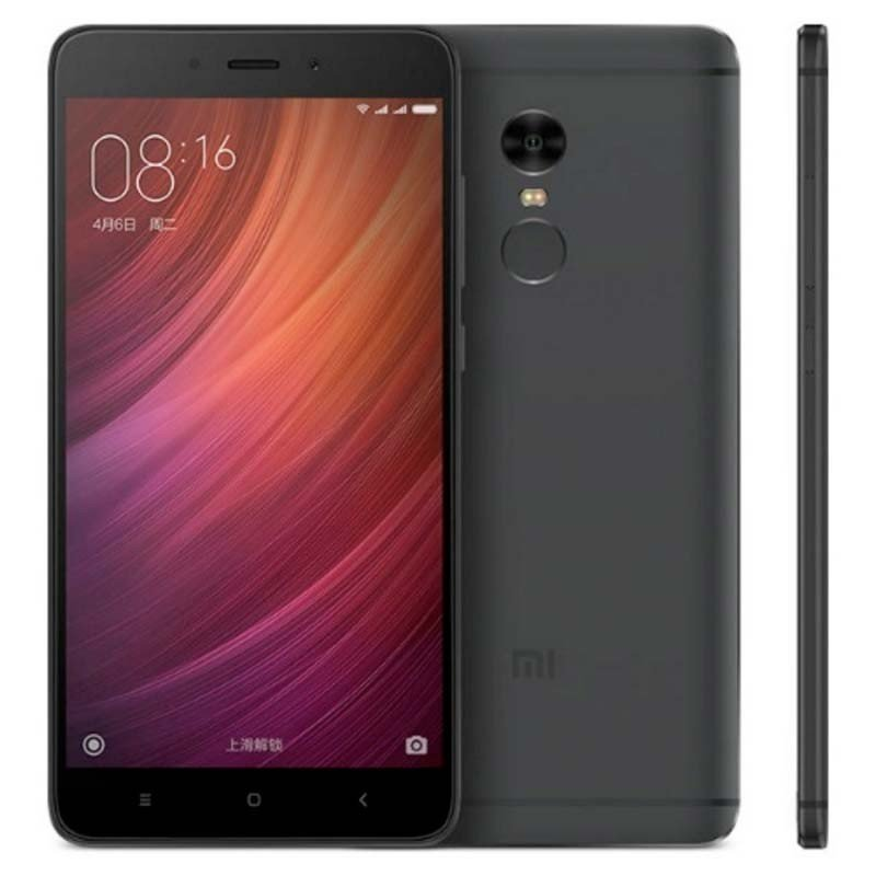 "Xiaomi Redmi Note 4 5.5"" 4GB 64GB Negro - Global Version"