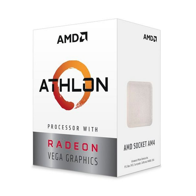 CPU APU AMD Athlon 220GE Radeon Vega 3 3.4GHz 5MB AM4