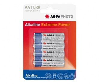 Pilas Alcalinas AA Agfaphoto pack 4uds (LR06)