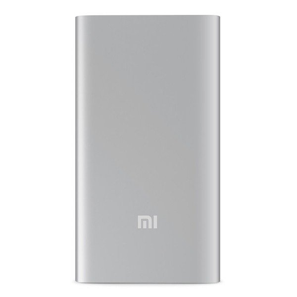 Bateria Portable PowerBank Xiaomi Mi Power Bank Plata 5.000 mAh