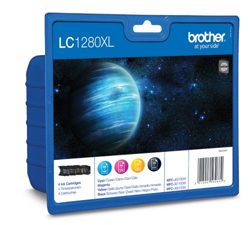 Brother LC1280XL Pack Cartuchos Tinta Original XL (N+C+M+A)