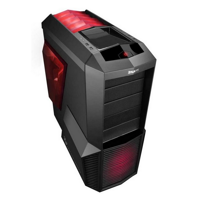Caja PC ATX Zalman Z11 Plus LED Rojo