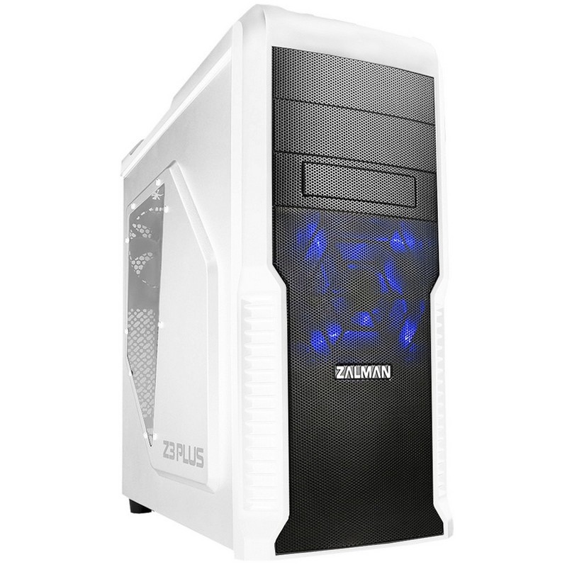 Caja PC ATX Zalman Z3 Plus USB3.0 Blanca