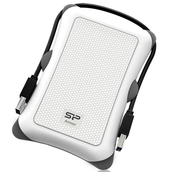 Disco Externo 1TB Silicon Power Armor A30 USB 3.0 Blanco