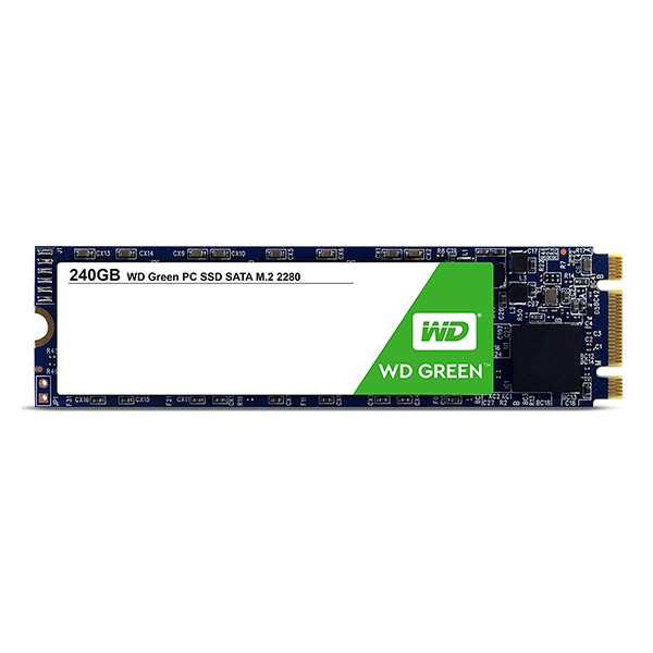 Disco M.2 240GB Western Digital Green WDS240G2G0B