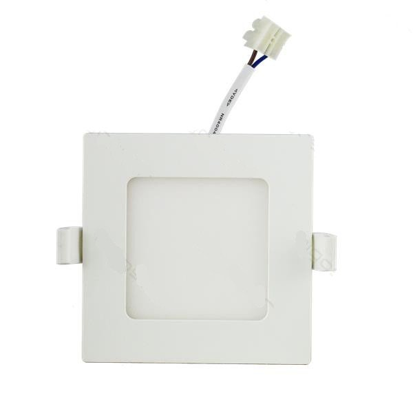 Downlight LED 6W 3000K 320lm E6 Cuadrado
