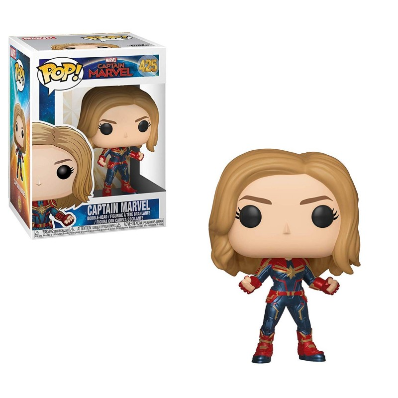 Funko pop marvel capitana marvel chase