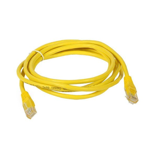 Gembird - Cable de Red RJ45 CAT5e 2mts Amarillo