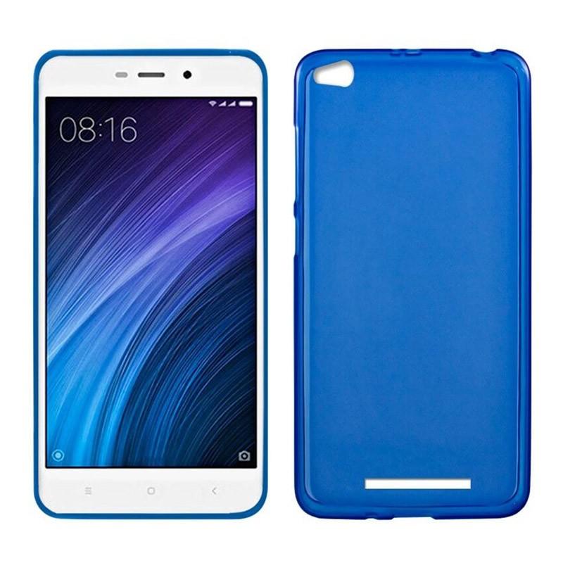 xiaomi-redmi-4a-funda-silicona-azul