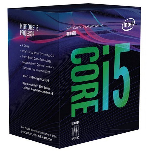 Procesador Intel Core i5-8400 2.80GHz 9MB LGA1151